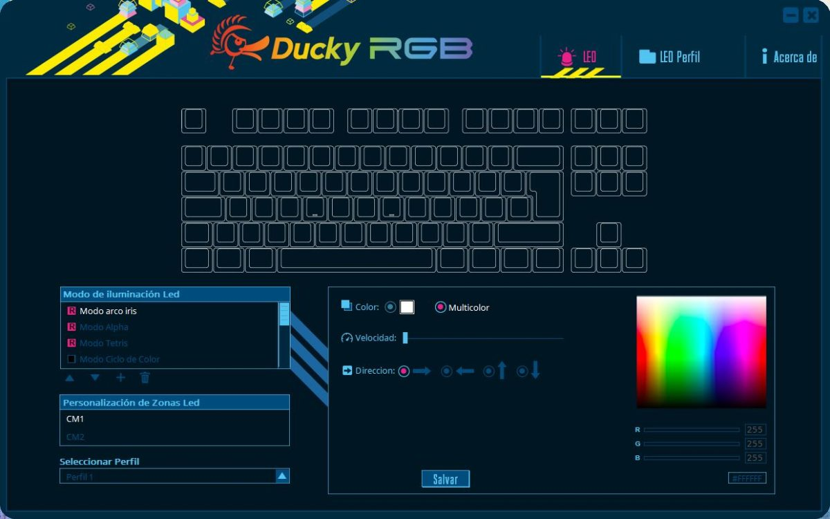 Ducky RGB Software